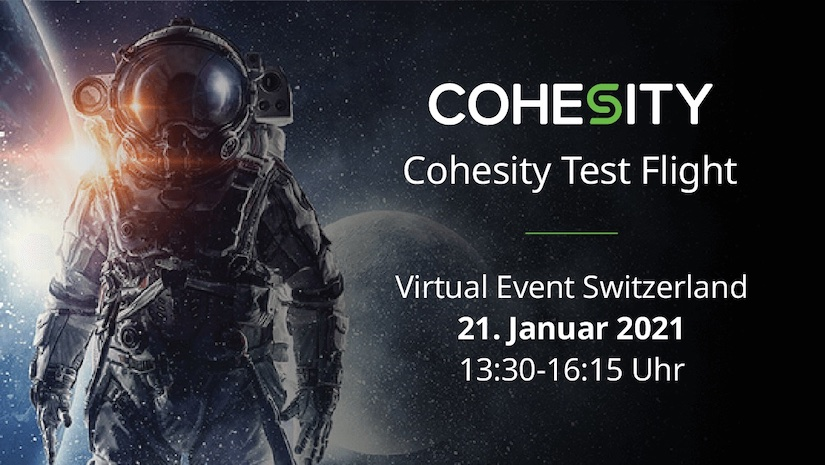 Cohesity Test Flight SWISS
